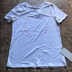 Lululemon Love Tee Expression White size 10